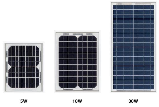 Calculer la taille d 39 un panneau solaire et sa batterie 12v pour une petit - Prix d un panneau photovoltaique ...